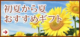 初夏から夏おすすめギフト
